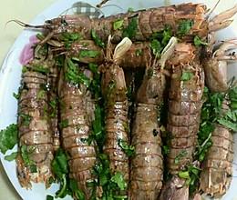 椒盐赖尿虾的做法