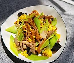 炒木须肉的做法