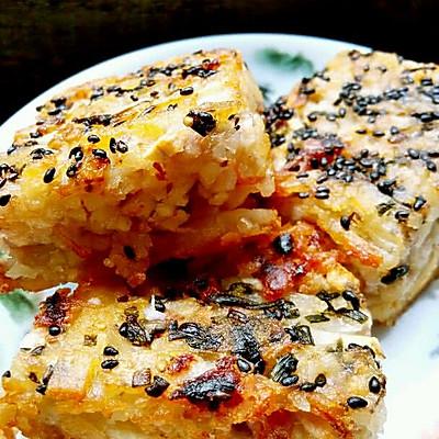 粤式早茶之芋丝饼