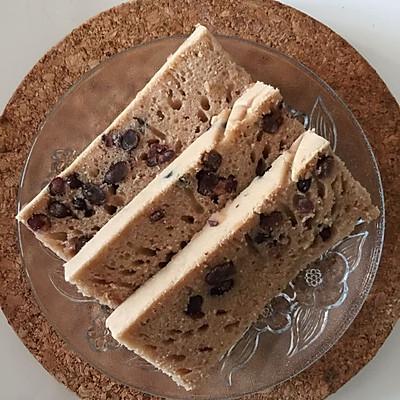 巧克力蜜豆蛋糕(水蒸版)