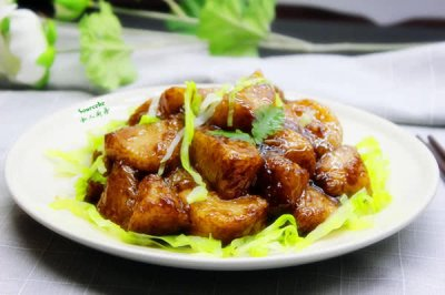 易消化的粽子吃法,糖醋粽子