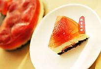 草莓果冻乳酪蛋糕 - 草莓季又开始啦,换个花样吃草莓吧!的做法