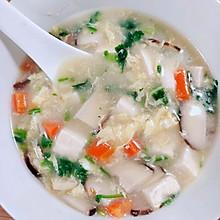 香菇豆腐羹,豆腐汤