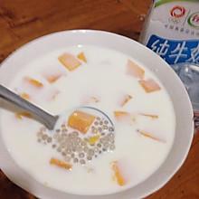 芒果椰汁西米露哟