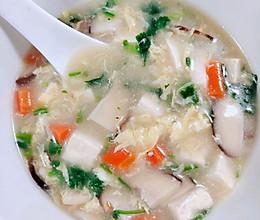 香菇豆腐羹,豆腐汤的做法