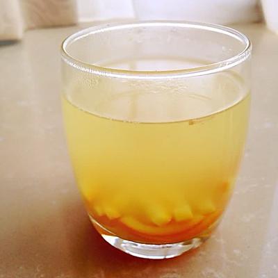 橙皮姜汁饮