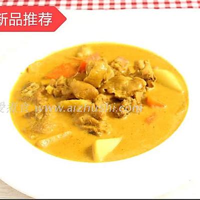 爱煮食泰式咖喱鸡块