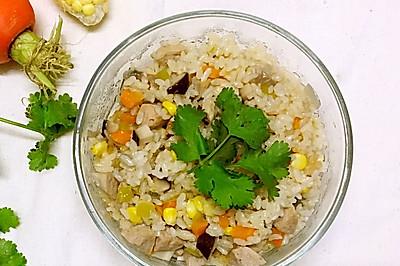 什锦蔬菜焖饭