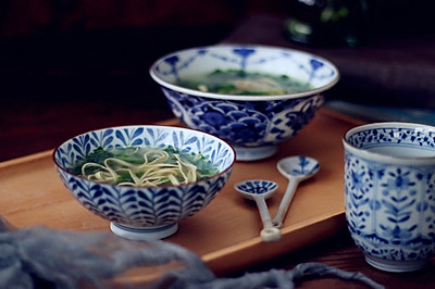 小白菜豆皮汤