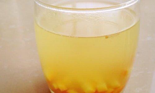 橙皮姜汁饮的做法