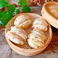 #新春美味菜肴#火腿葱花卷的做法图解9