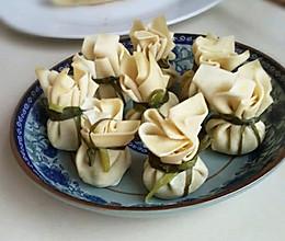豆腐皮包子。的做法