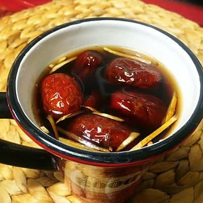 寒冷冬天的一丝暖意:红枣姜丝可乐