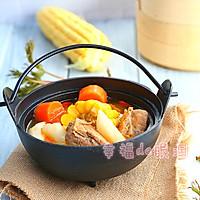 四小时煲出的一锅好汤:[番茄玉米猪骨汤]的做法图解9