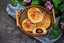 枣泥蛋黄小餐包的做法
