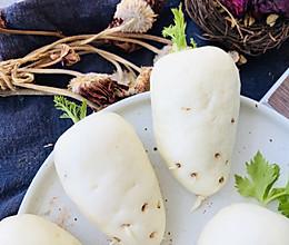 #美食视频挑战赛#白萝卜馒头的做法
