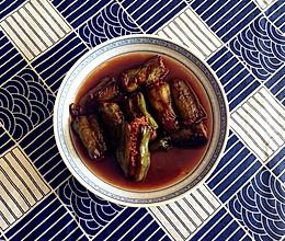 虎皮青椒酿肉的做法