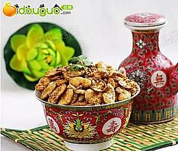 五香芝麻油酥蚕豆的做法