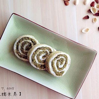 绿豆糯米卷