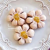 #快手又营养,我家的冬日必备菜品#粉嫩少女心桃花酥的做法图解19