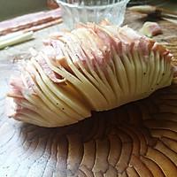 风琴土豆#美的微波炉菜谱#的做法图解4