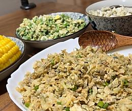 蒸出来的时令鲜味:槐花麦饭的做法