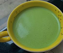 抹茶拿铁(防弹抹茶)|生酮热饮的做法