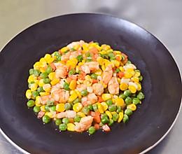 上班族轻松搞定的高颜值营养晚餐——虾仁玉米的做法