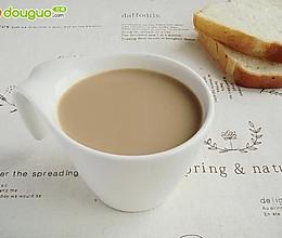 红茶豆浆的做法