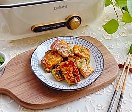 #吃货恒行 开挂双11#香煎豆腐块的做法