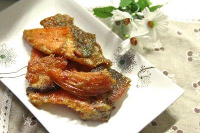 空气炸锅试用+香脆三文鱼排