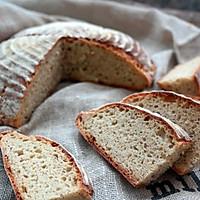 免揉全麦面包包#有长相的实力派演员#的作法流程详解14