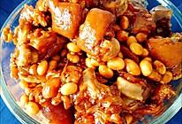 黄豆猪蹄的做法