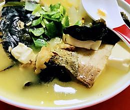 #橄榄中国味 感恩添美味#鱼汤的做法
