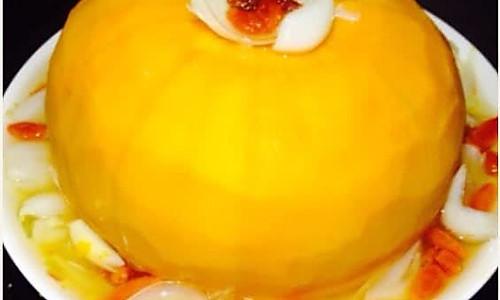 美容养生--黄金南瓜扣百合的做法