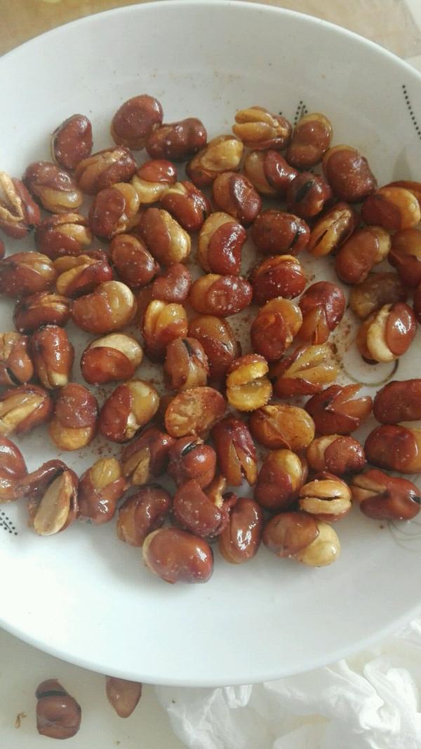 自制五香蚕豆的做法