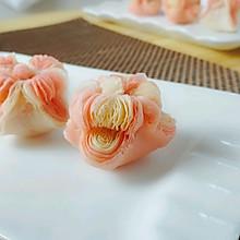 双色海棠酥
