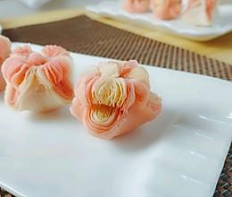 双色海棠酥的做法