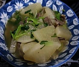 萝卜牛杂汤的做法