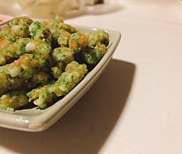 宝宝爱吃的Q弹的蔬菜虾滑的做法