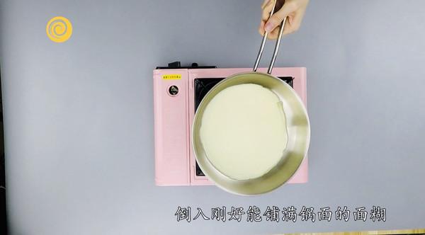 减肥早餐~香蕉可丽饼