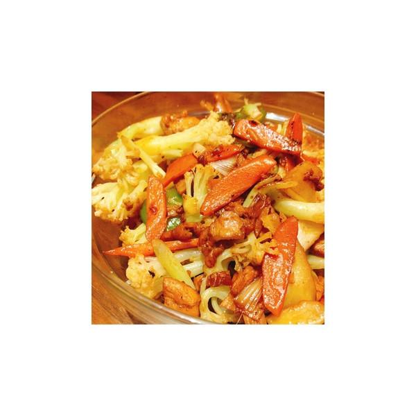 鸡腿炒花菜—最爱家常味的做法