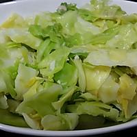 腐乳抄椰菜的做法图解2