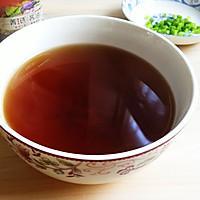 清淡简易小葱酱油面的做法图解2