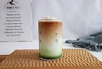 冰抹茶拿铁咖啡的做法
