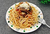 番茄蘑菇牛肉意面的做法