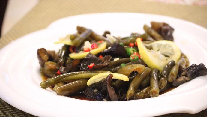 夏日开胃菜-凉拌海藻笋