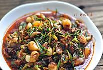 春季野味尝鲜之野小蒜辣酱的做法