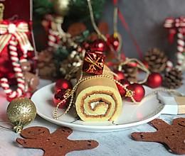 #令人羡慕的圣诞大餐#海盐芝士蛋糕卷的做法