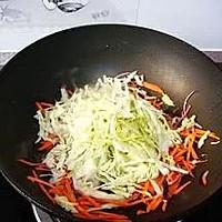 包菜胡萝卜炒面的做法图解13